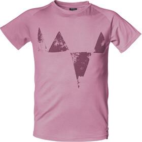 Isbjörn Big Peaks - T-shirt manches courtes Enfant - rose